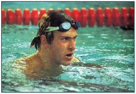 Всемирно известный пловец Владимир Сальников.