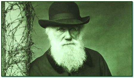 Фото Чарльза Дарвина в шляпе